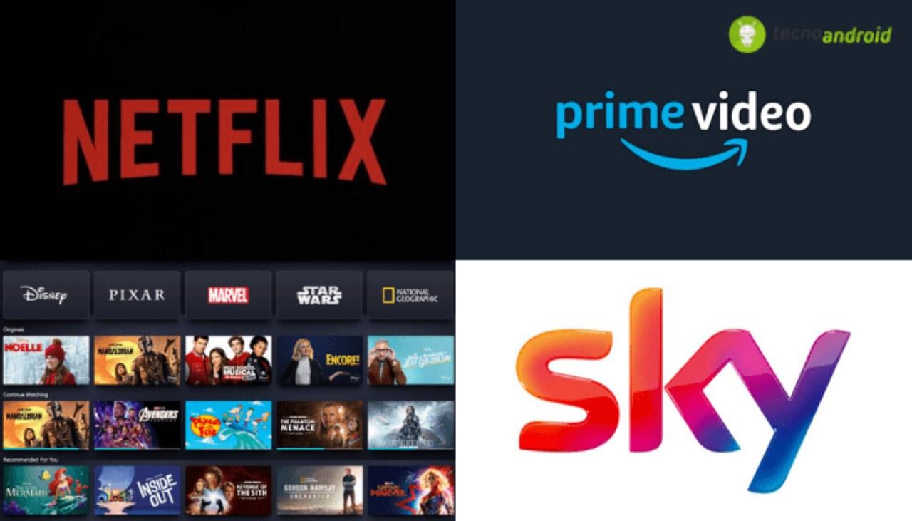 Sky, Netflix, Amazon Prime Video e Disney+: cosa scegliere per i bambini